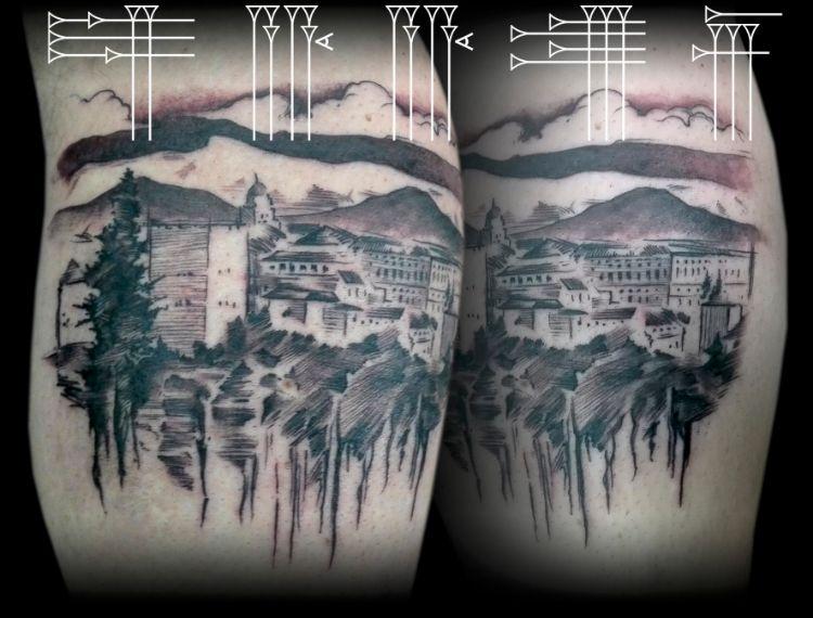 Tatuaje de la Alhambra