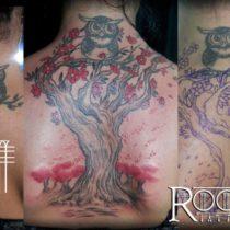 Tatuajes para la espalda chicas