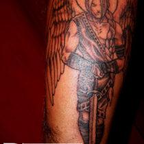 Ejemplo de tatuaje en antebrazo