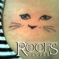 Idea para tatuaje de gato