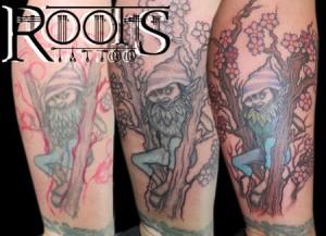 Etapas de un arreglo de tatuaje