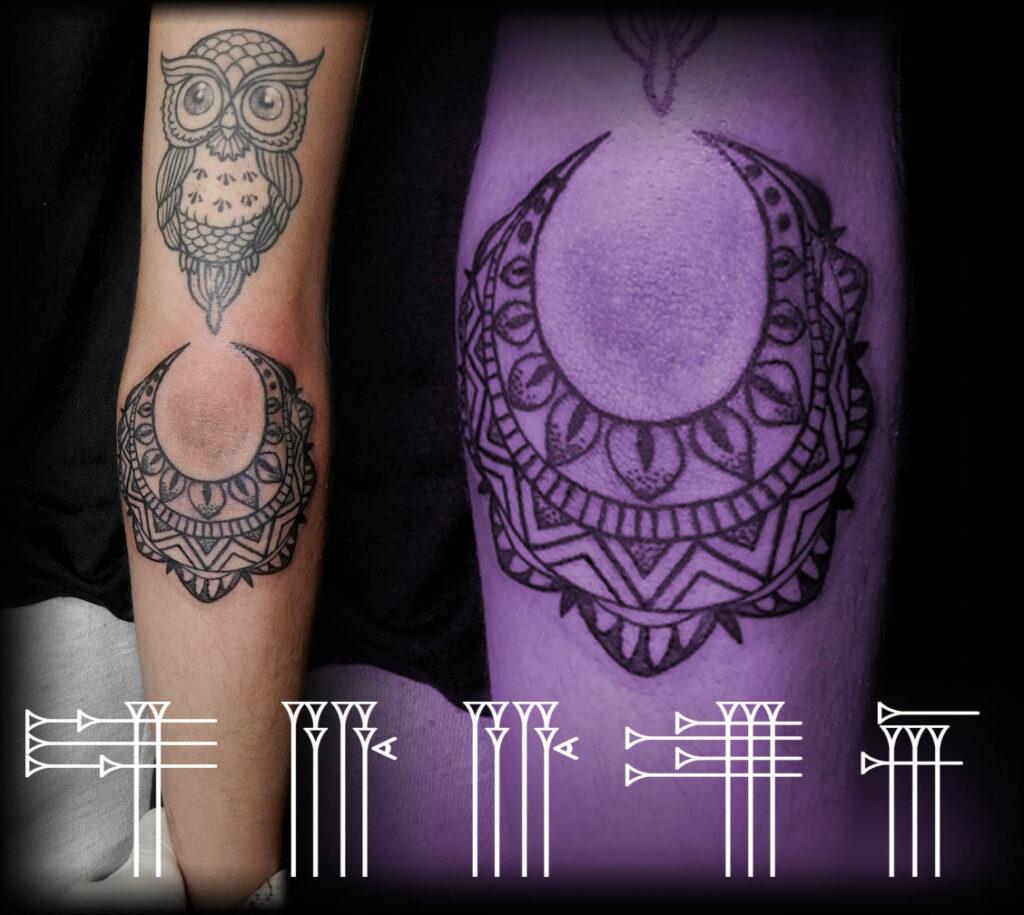 Buho Tatuaje Mandala búho con mandala – roots tattoo granada