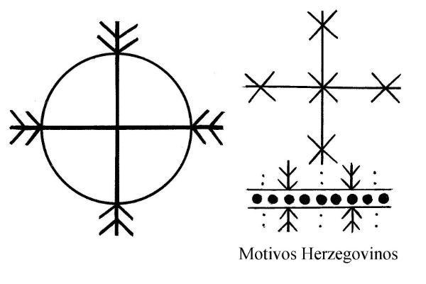 Tatuajes de líneas y círculos