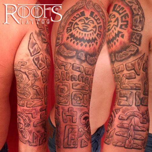 Tatuaje maya
