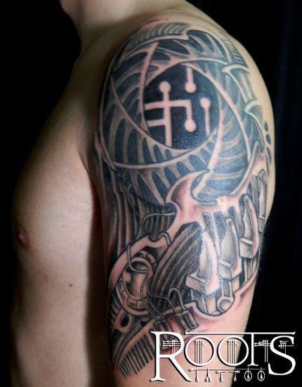 Tatuaje para brazo de hombre