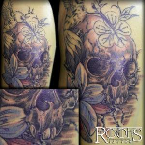 Tatuaje caravela estilo propio