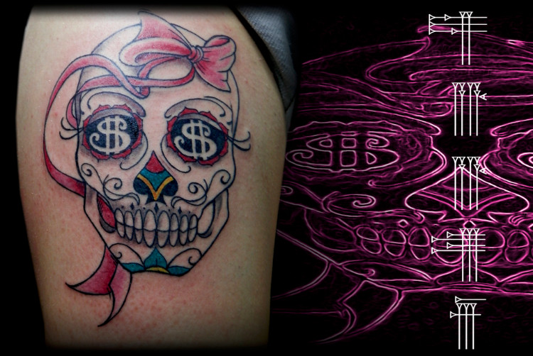 Tatuaje chicano femenino sexy