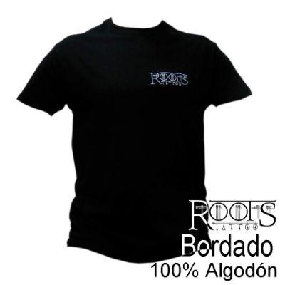 Camiseta de calidad bordada