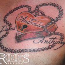 Tatuaje cerrojo