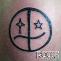 Emoticono tatuaje
