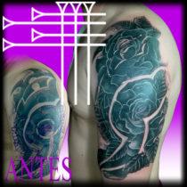 Difícil tapado de tattoo tribal