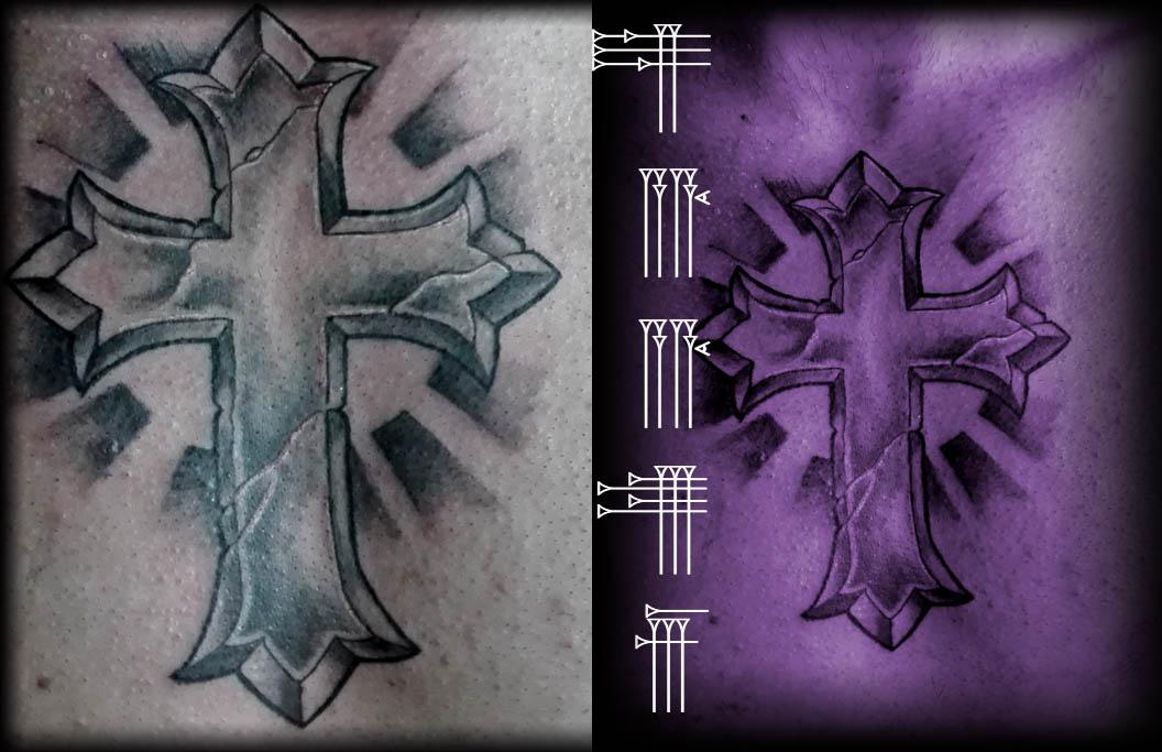 Croix Tattoo