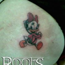 Tatuaje personaje de Disney