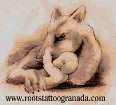 Ilustración instinto maternal