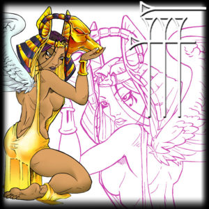 Egipcian tattoo