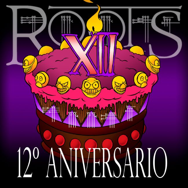 12 ANIVERSARIO ROOTS TATTOO