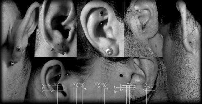 Clases de piercing en el cartílago de la oreja