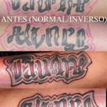 Ambigrama tatuaje