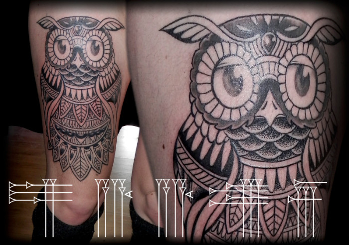 Tatuajes de puntos