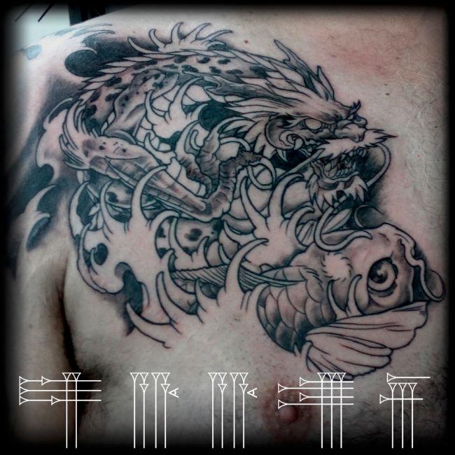 Tatuaje neojaponés