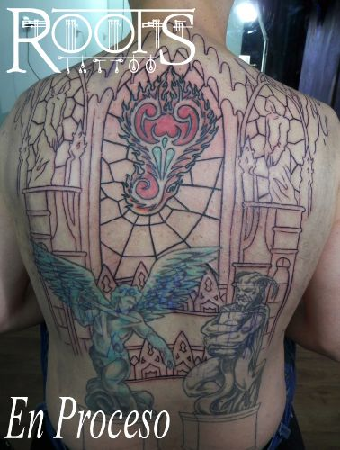 proceso backpiece