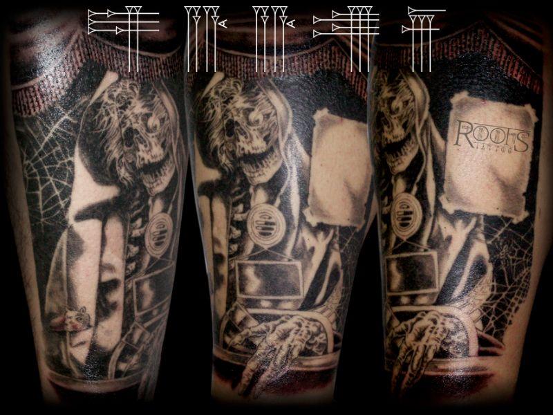 Tatuaje portada de cómic