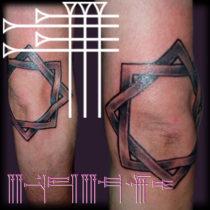 Tatuaje original para el codo