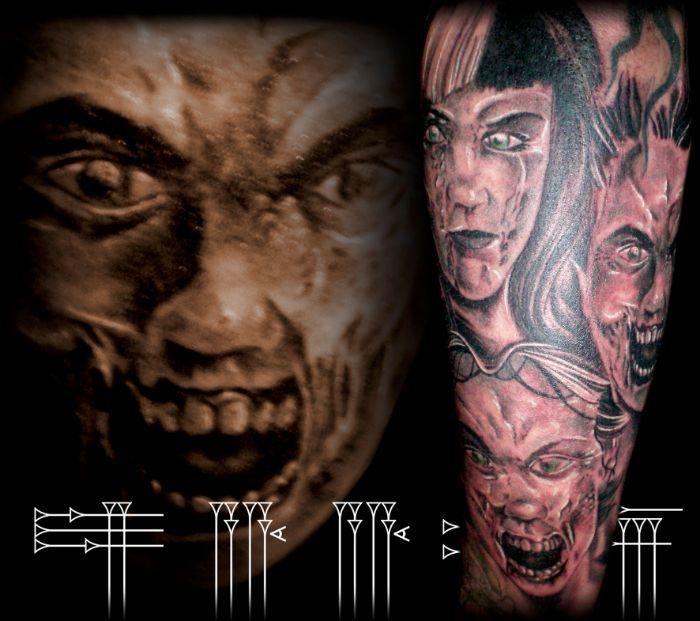 Terror tattoo