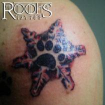 Tatuajes snow print