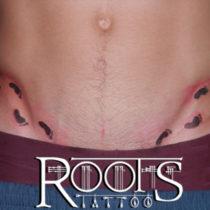 Tatuaje ingle chico