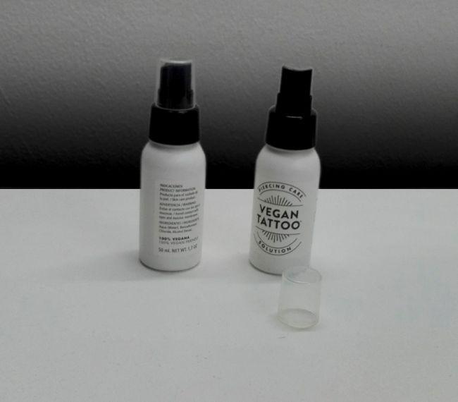 Producto para el cuidado de piercings