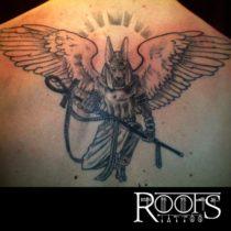 Tatuajes para la parte superior de la espalda