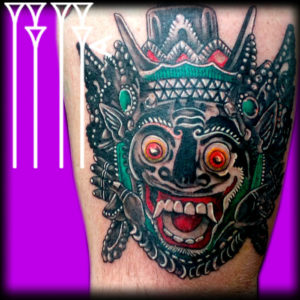 Deadly Mask tattoo
