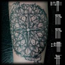 Grafismos tattoo