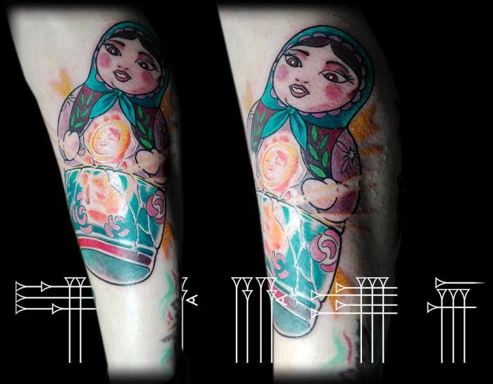 tatuador neotradicional en Granada
