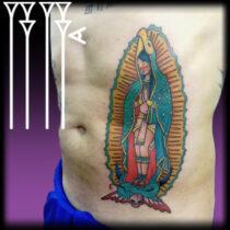 Diosa azteca y maya