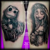 Tatuaje Tim Burton