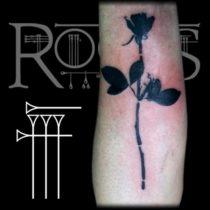 Tatuaje sencillo en negro