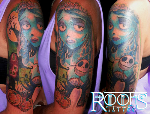 Tim Burton Tattoo
