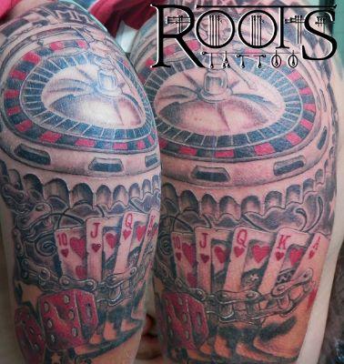 Tatuaje suerte, juegos.