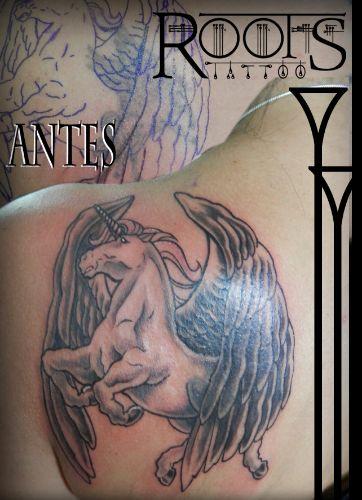 CABALLO ALADO COVER UP