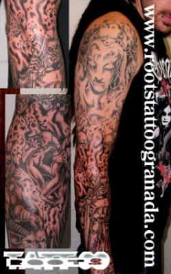 Tatuaje inframundo