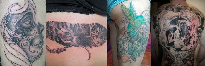 Varios tatuajes