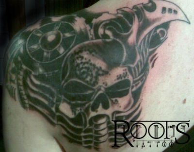 Cover up mecanoide