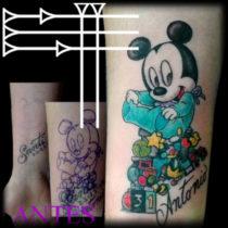 Tatuajes bebés Disney
