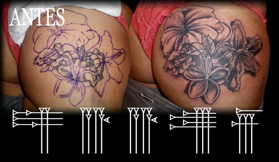 Tatuaje en el culo