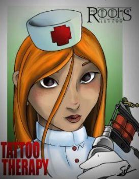 Enfermera tatuadora