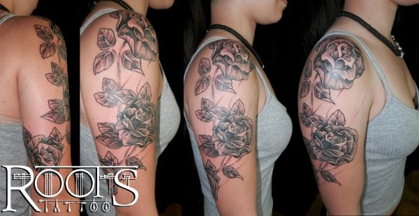 Tatuaje brazo chica