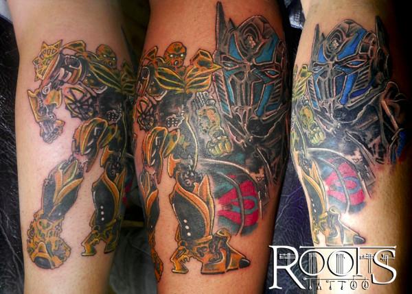 Tatuaje con mucho detalle a color