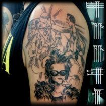 Tatuaje cinéfilo
